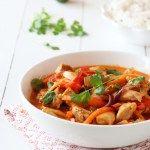 Smakfull kylling i curry med koriander