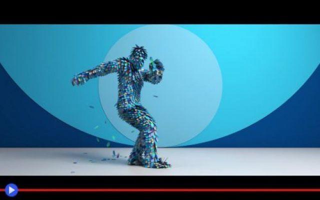 Una danza dei corpi dagli incredibili costumi digitali Fusione ed vaporizzazione, intangibile, magnifica sublimazione. Tutti gli stati della materia, ed i processi di mutamento dall'uno all'altro, vengono presi in esame in questa breve quanto memorabile  #tecnologia #animazione #computergraphic