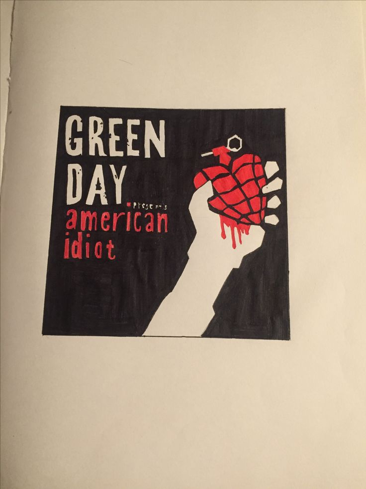 American idiot, ink pen drawing(so worth wasting the entire black pen ) ❤️❤️