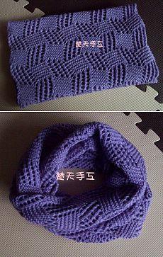 Вязание: шарф-хомут, снуд, шарф-труба - модный аксессуар своими руками