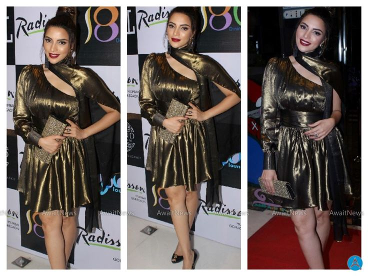 Shama Sikander Photos At Radisson Mumbai Host Pre Christmas Party