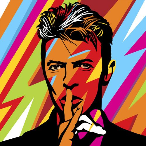 Mr Bowie | Lobo | Pop Art | Flickr - Photo Sharing!