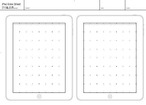 free printable sketching  wireframing and note