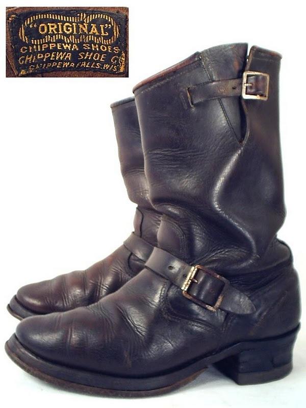 Vintage Engineer Boot