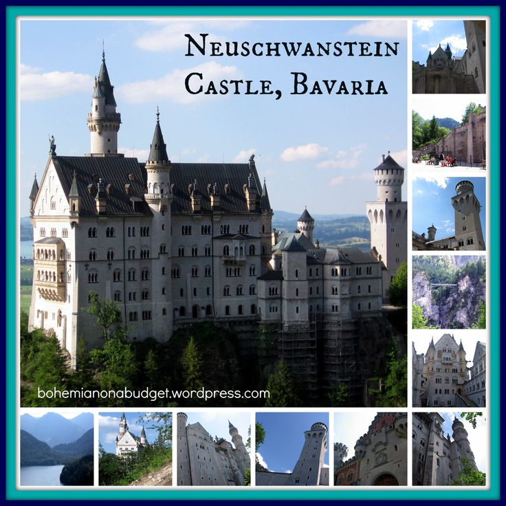Weekend #Postcard: #Neuschwanstein #Castle, #Bavaria, #Germany