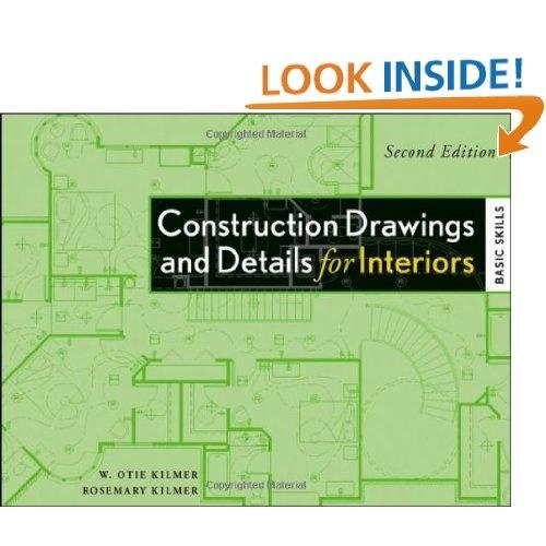 Construction Drawings And Details For Interiors Basic Skills Rosemary Kilmer W Otie Graphic Design BooksInterior