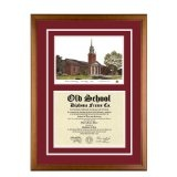 Harvard University Massachusetts Diploma Frame with Lithograph Art PrintBy Old School Diploma Frame Co.