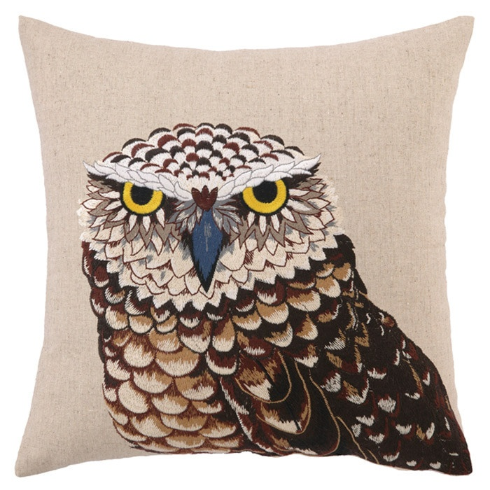 Cute owl cushion !  #introdesign #cushions #textiles #products