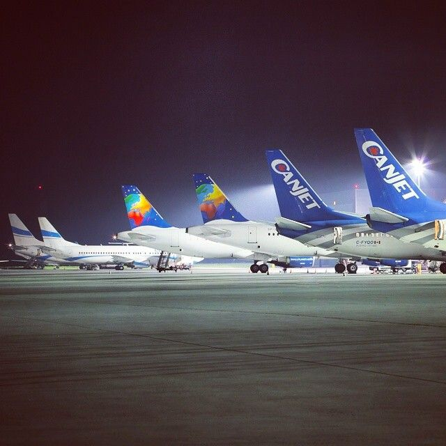 Katowice Airport Charter Airlines, Canjet, Smallplanet Airlines, Enter Air