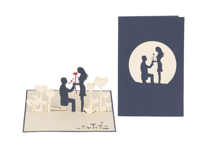 HandCraft and laser-cutting love invitation #3dcards #cards www.3dcards.com.au