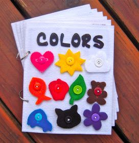Always Sewin' Somethin!: New Quiet Books: COLORS!