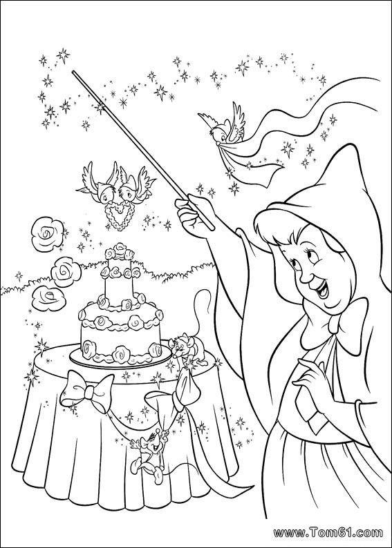 Disney Coloring Page Wedding