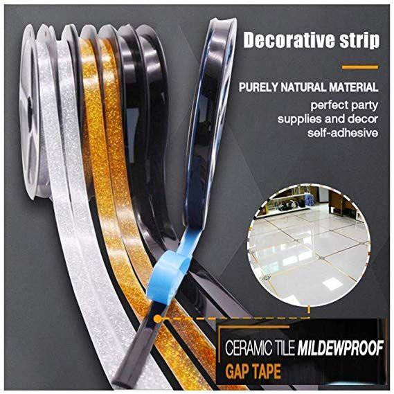 ceramic tile mildew proof gap tape