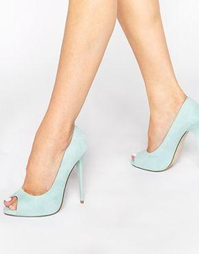 ASOS - PENZANCE - Chaussures peep toes à talons hauts