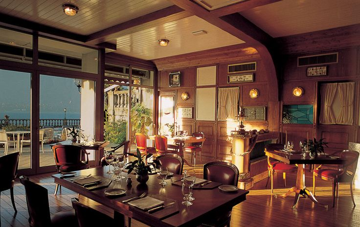 Tables inside.