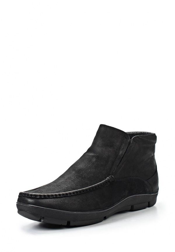 Ботинки Terra Impossa мужские. Цвет: черный. Материал: натуральный нубук. Сезон: Осень-зима 2013/2014. С бесплатной доставкой и примеркой на Lamoda. http://j.mp/1nEU6RR