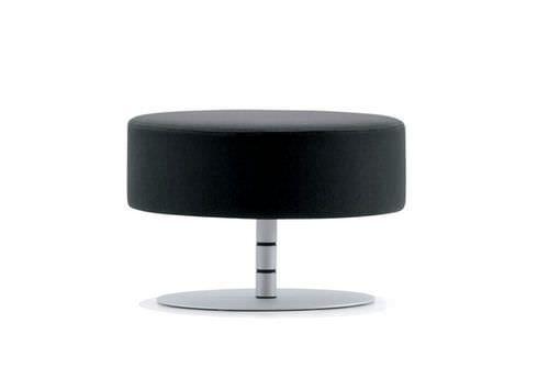 Contemporary stool / swivel ATOMA by Denis Santachiara Rossin