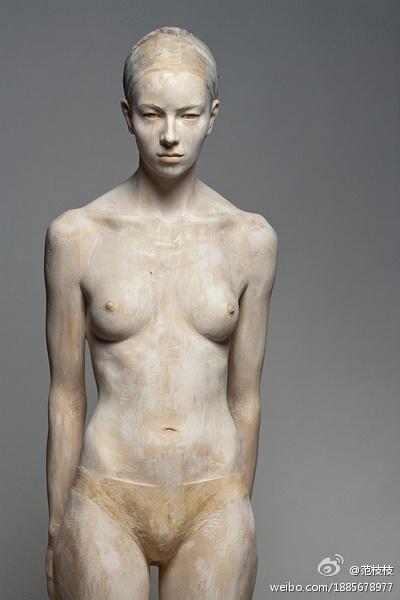 Bruno Walpoth Wooden Sculpture