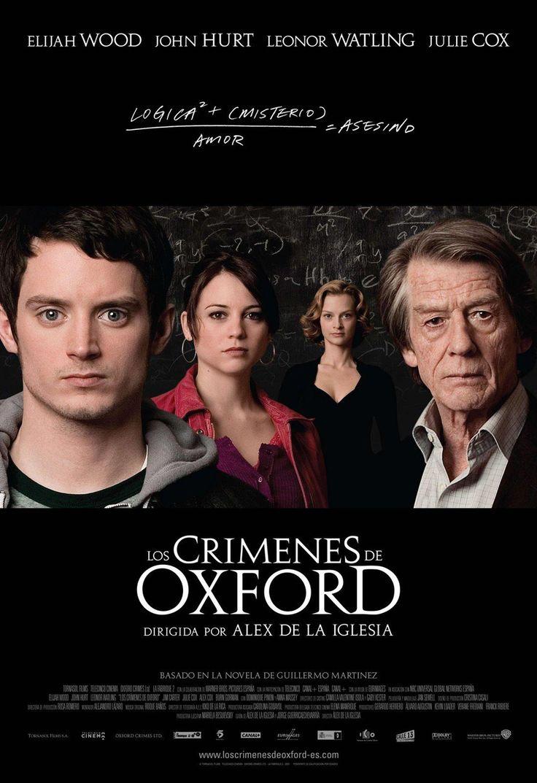 Cartel de la película Los crímenes de Oxford