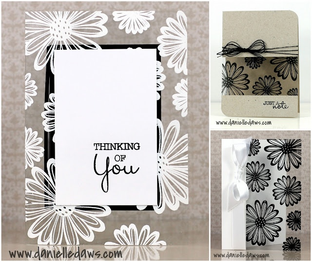 heat-embossed stamping on Acetate Cards by Danelle Daws.... includes video tutorial