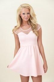 Fancy Meeting You Dress-Blush