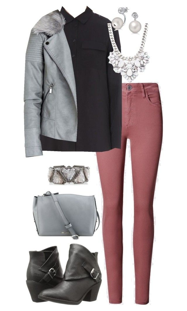 """Office Casual #136"" by amooshadow on Polyvore featuring French Connection, Blowfish, Nine West, Forever 21 and Bling Jewelry"
