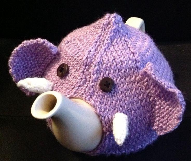 Purple Nellie cosy