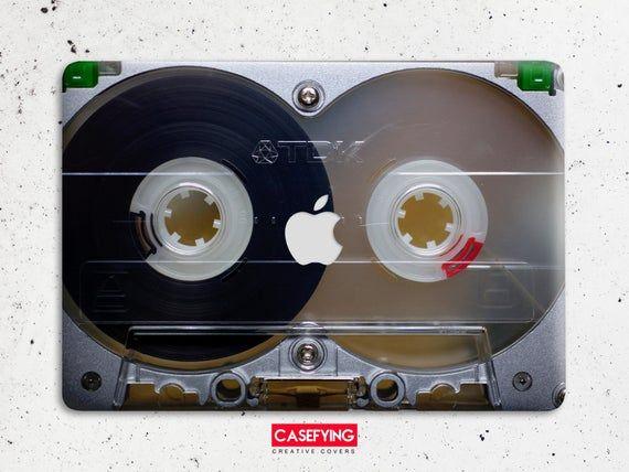 Audio cassette macbook hard case Fashion macbook case music macbook case cassette macbook macbook Pro case macbook cases 13