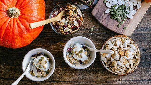 3 recipes for pumpkin seeds