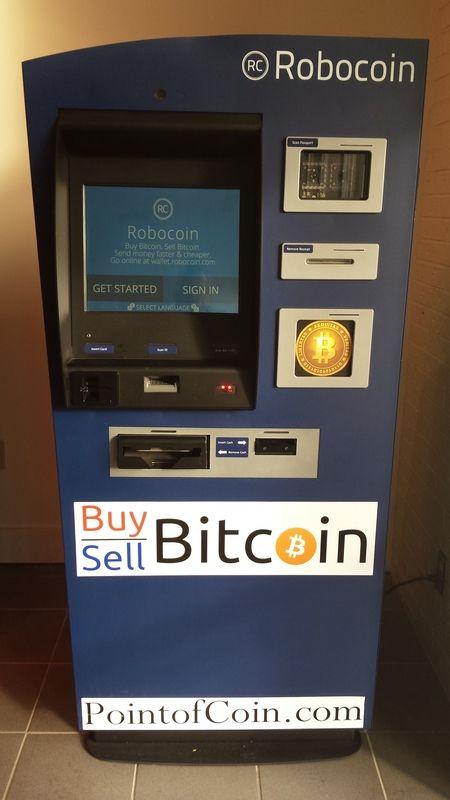 Robocoin Point Of Coin ATM