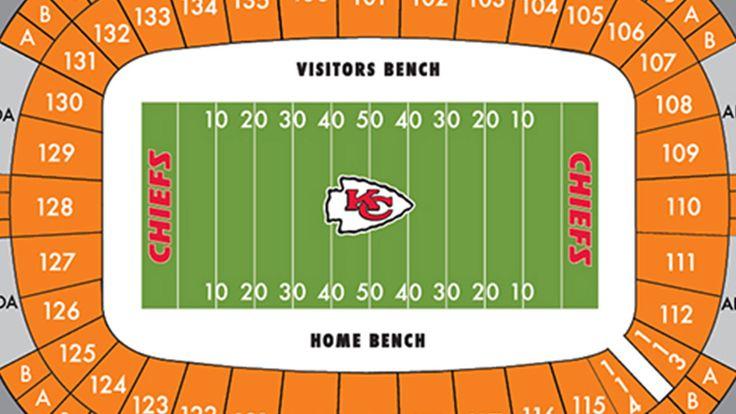 Arrowhead Stadium Maps