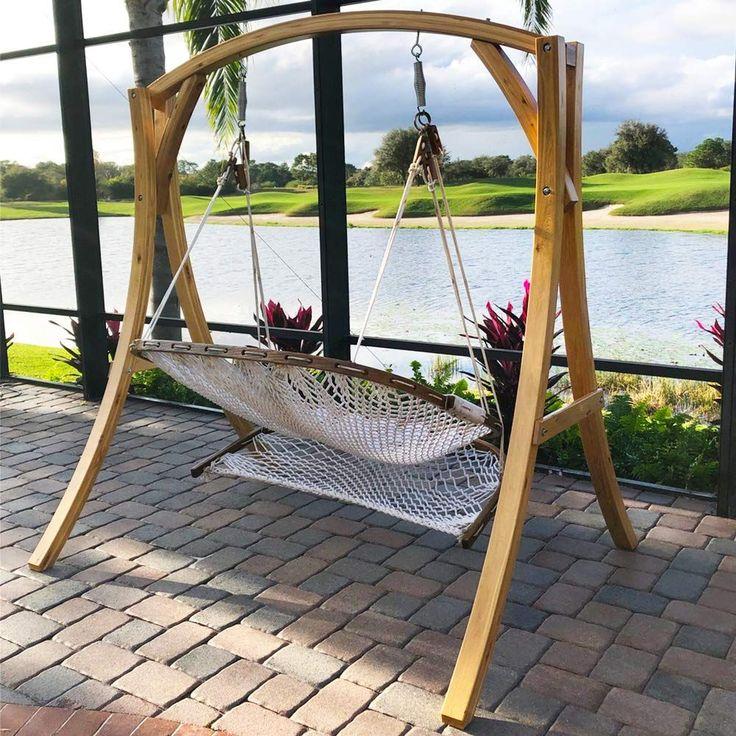 Best Hammock Underquilt in 2020 Wooden hammock stand