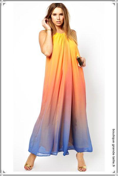 8 best robe longue grande taille images on pinterest. Black Bedroom Furniture Sets. Home Design Ideas