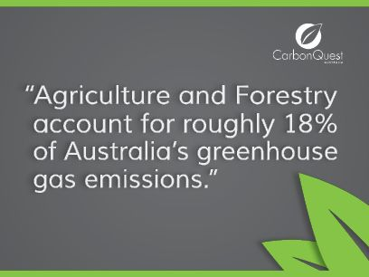 The Carbon Farming Initiative is a carbon offsets scheme that will provide new economic opportunities for Australian agricultural and forestry sectors, whilst also helping the enviornment by reducing the carbon pollution. Learn more at www.carbonquestaustralia.com