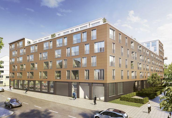 Neubau-Immobilien München: Neubauwohnungen Am Alten Eiswerk. Bild: Bayerische Hausbau / formstadt architekten https://neubau-muenchen.com/2017/03/27/vorgestellt-neubauwohnungen-am-alten-eiswerk/