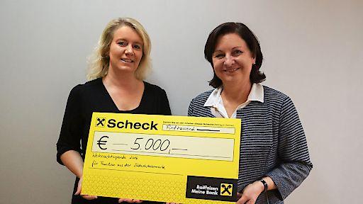 Weihnachtsspende 2016: BOXMARK stellt 5.000,00 Euro für notleidende Familien aus der Südoststeiermark bereit