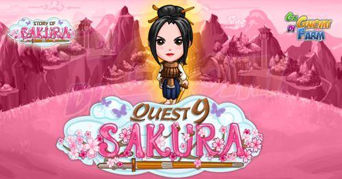 Story Of Sakura Quest #9 Inizio previsto per il 09/05/2016 alle ore 13:30 circa Scadenza il 16/05/2016 alle ore 12:30 circa Mancano 8 giorni 23 ore 23 minuti 25 secondi alla scadenza della quest! Quest #1 Fatti mandare dai tuoi vicini 7 Bamboo Reeds; con gli sconti SmartQuest dovrebbero servirne un massimo di 1 (clicca sul tasto Ask Friends per pubblicare la richiesta sulla tua bacheca). Raccogli 80 zolle di Sakura Shells da 10 min Sakura Shells da 10 min (locked in Story Of Sakura) non cé…