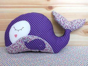 Шьем игрушку-подушку «Китенок» | Ярмарка Мастеров - ручная работа, handmade