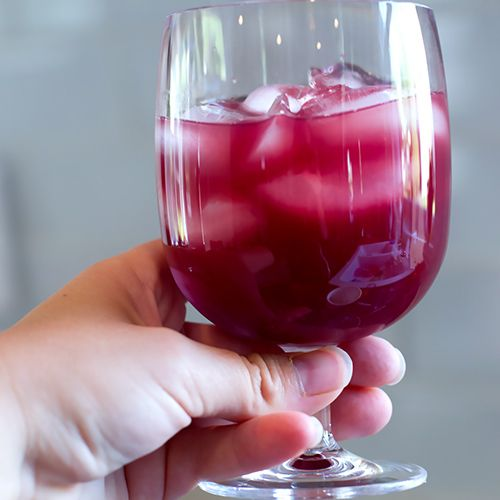 Best Sangria 1 bottle dry red wine, 1 1/2 cups Fresca (or Sprite) 1 1/2 cups orange juice without pulp, 1/2 cup brandy 2 Tbsp Cointreau liqueur or any orange liqueur 2 Tbsp Grenadine, 3 limes, 3 lemons, 1 large orange 1/4 cup sugar