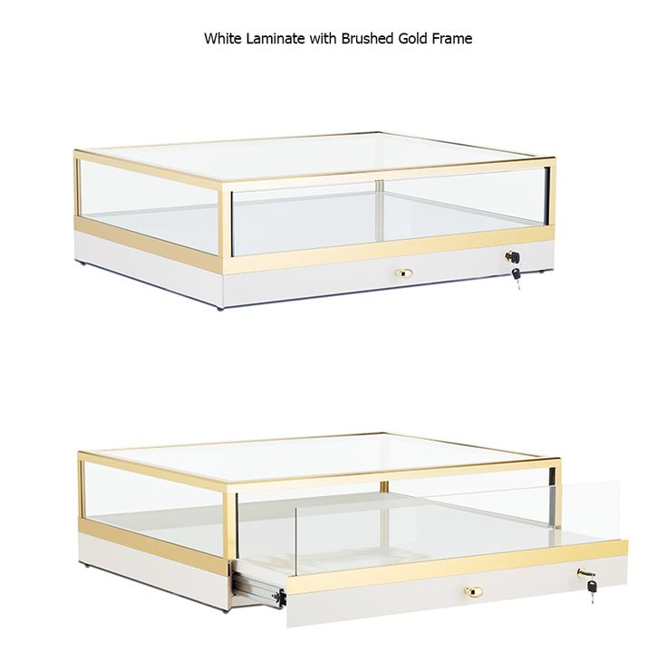 GL202 Custom Portable Jewelry Countertop Display Case