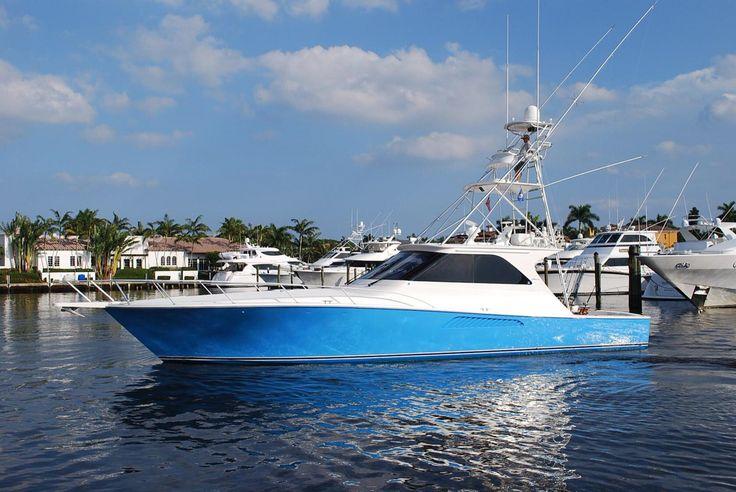 Nice fishing yacht
