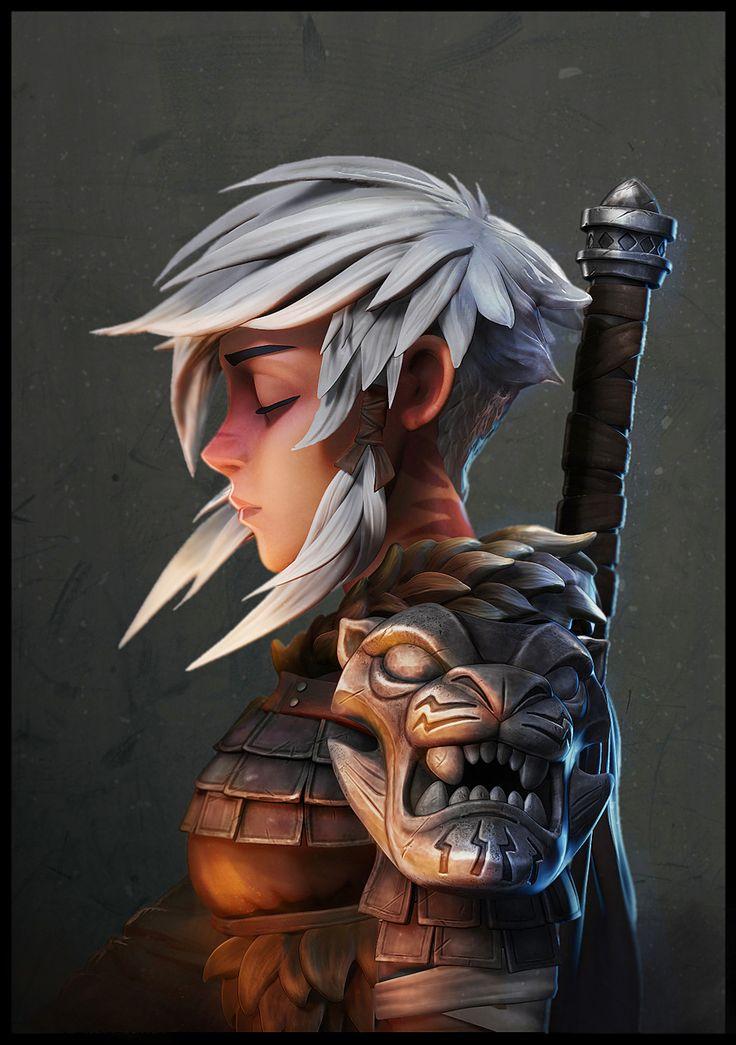 Warrior by Ahmad Samy | Cartoon | 3D | CGSociety