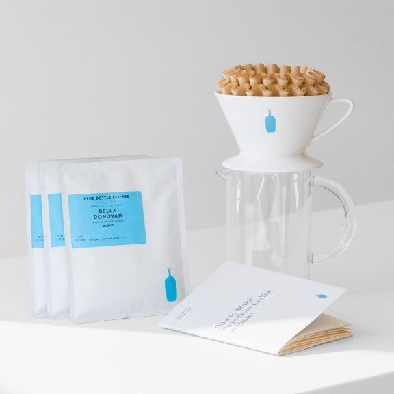 Blue Bottle Coffee Pour Over Kit Gift For Coffee Lovers Blue Bottle Coffee Blue Bottle Coffee Kit