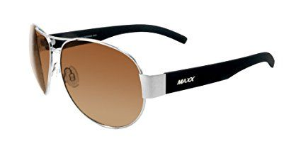 Maxx Sunglasses 2017 Maxx 16 Silver Frame TR90 HD Polarized Lenses