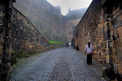 Замки Шотландии: Эдинбургский замок | Фото-День