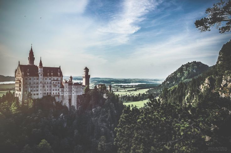 Neuschwanstein Inspiration for Disney's Sleeping Beauty Castle Germany (from my Road Trip to Switzerland 2015)