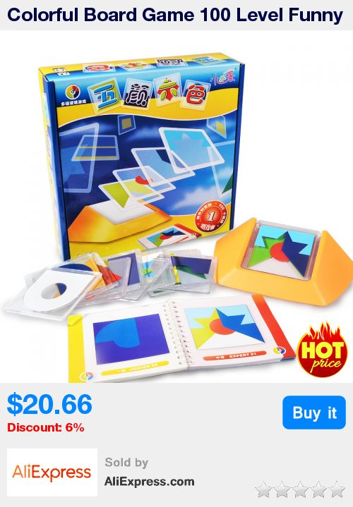 Colorful Board Game 100 Level Funny Puzzle Game For Children Learning,Environmental Protection ABS Plastic With Free Shipping * Pub Date: 00:48 Jul 1 2017