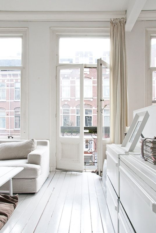 kateida.tumblr.com/ home house apartment lovely room window door livingroom balcon berlin white ikea designer parquet