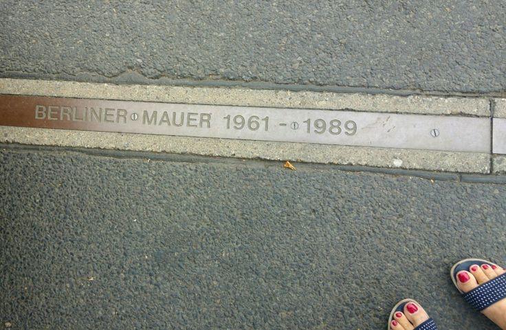 Ehemaliger Berliner Mauerverlauf