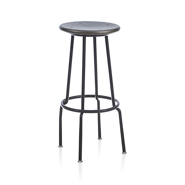 Scholar Bar Stool | Crate and Barrel. Kitchen ...  sc 1 st  Pinterest & 81 best counter chair images on Pinterest | Counter chair Bar ... islam-shia.org